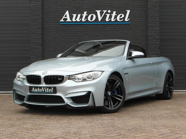 BMW 4 Serie Cabrio M4 M-Sportleder, Navi-Pro, Head-Up, Adaptive LED, Camera, 2015 - 74.000km