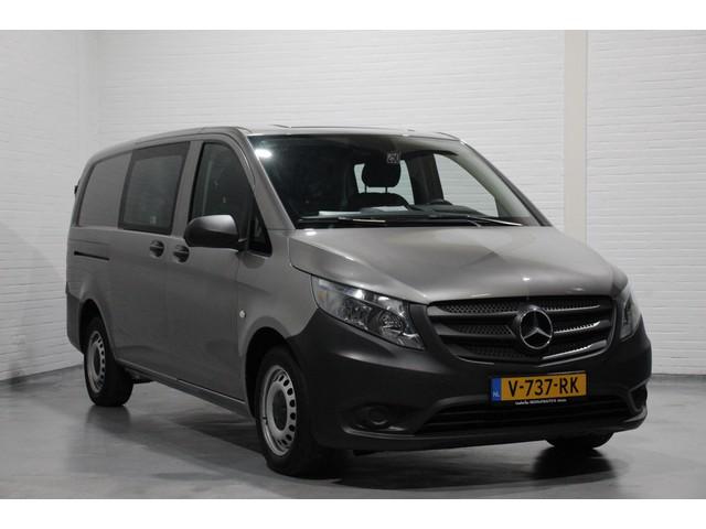 Mercedes-Benz Vito 111 CDI 114 pk Dubbel Cabine Airco, Cruise Control, Bluetooth, Bijrijdersbank
