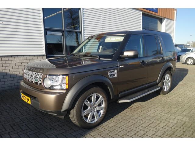 Land Rover Discovery 3.0 SDV6 256pk SE automaat   grijs kenteken   lease € 541   leer   trekhaak 3500kg   navi   airco   cruise !