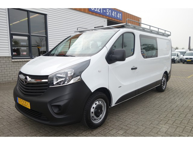Opel Vivaro 1.6 CDTI 120pk L2H1 DC 6 persoons Edition   lease € 218   airco   cruise   trekhaak   imperial !