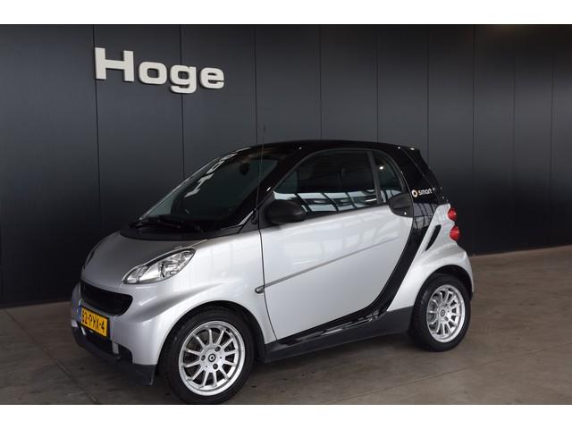 Smart Fortwo coupe 1.0 mhd Automaat Pure Airco Panoramadak Lichtmetaal Rijklaarprijs Inruil Mogelijk!