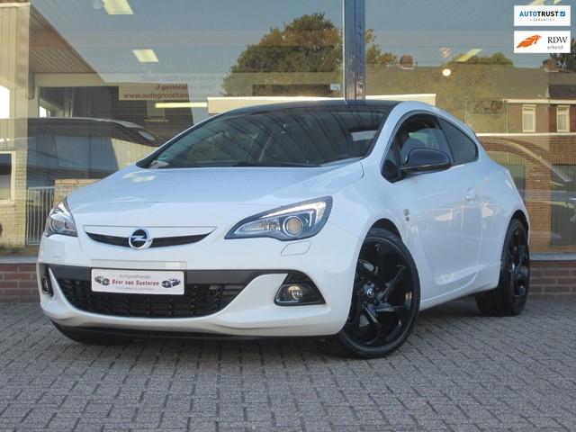 Opel Astra GTC 2.0 Sport OPC Line 165PK! Navi Xenon Led Leer Cruise PDC Spoiler pakket! 1e eigenaar!