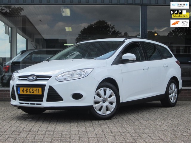 Ford Focus Wagon 1.0 EcoBoost Lease Trend Airco PDC Trekhaak MTF-stuur! Dealer OH Topstaat