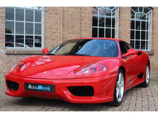 Ferrari 360 3.6 V8 Modena, 6-Bak, Carbon stoelen en interieur, Challenge gril, Perfecte staat