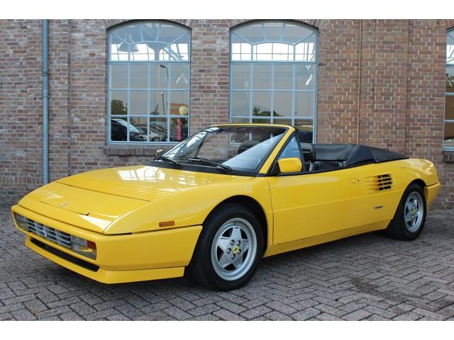 Ferrari Mondial 3.4 T Cabriolet 88.165 km, Boekjes aanwezig, Fly Giallo