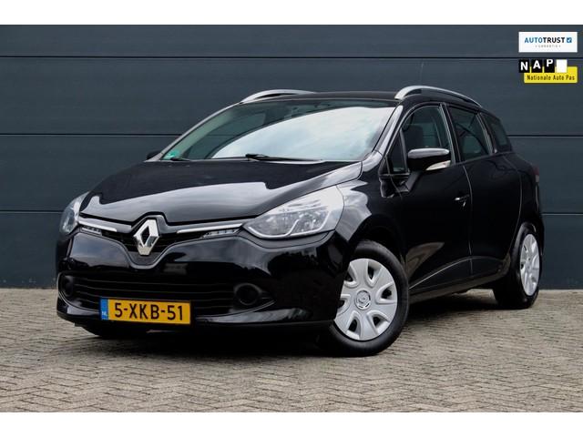 Renault Clio Estate 1.5 dCi ECO Expression (NAVIGATIE, TREKHAAK, PARLEERSENSOREN, CRUISE, AIRCO, BLUETOOTH, 1e EIGENAAR, DEALER ONDERHOUDEN)