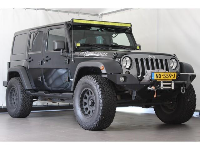 Jeep Wrangler Unlimited 2.8CRD Aut. Mountain Special Ed Navi Verhoogd Lier