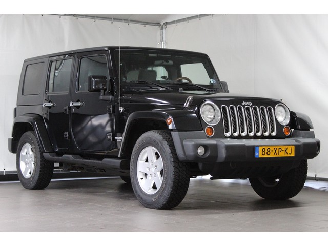 Jeep Wrangler 2.8 CRD AUT Unlimited Sport   Airco   DAB