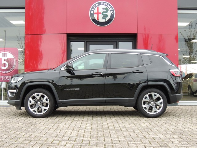 Jeep Compass Turbo 140 MultiAir Limited Opening Edition Plus Beats audio | Apple Car Play | Lederen bekleding