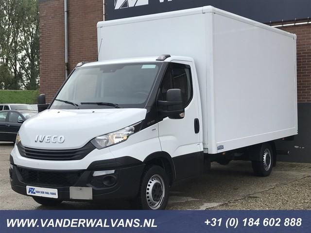 Iveco Daily 35S16 Euro6 410 Bakwagen + Laadklep Airco, 3-zits
