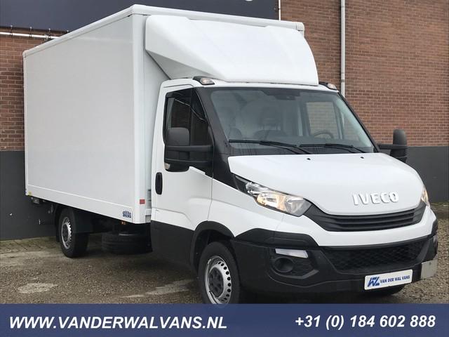 Iveco Daily 35S16 Euro6 410 Bakwagen + Laadklep Spoiler, Airco, 3-zits