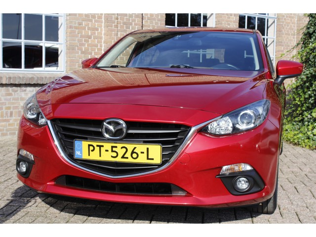 Mazda 3 2.0 TS 2013, 94.661km, Nw. Model, Navi, Clima, Stoelverw., Bluetooth, PDC