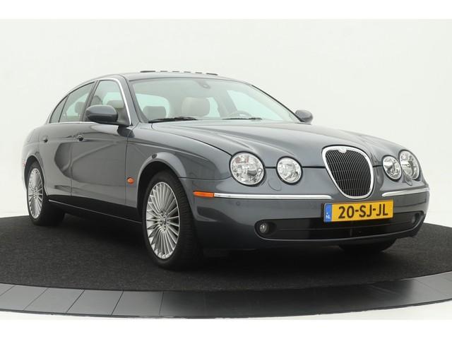 Jaguar S-Type 3.0 V6 Aut Exe | Volleder | Navi | Schuifdak | Nwst | Youngtimer | Org NL | Geheel dealer onderh | 91.000 km!
