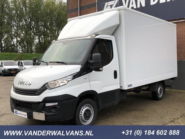 Iveco Daily 35S16 410 Bakwagen + Laadklep Airco, 3-zits, Euro6, bijrijdersbank