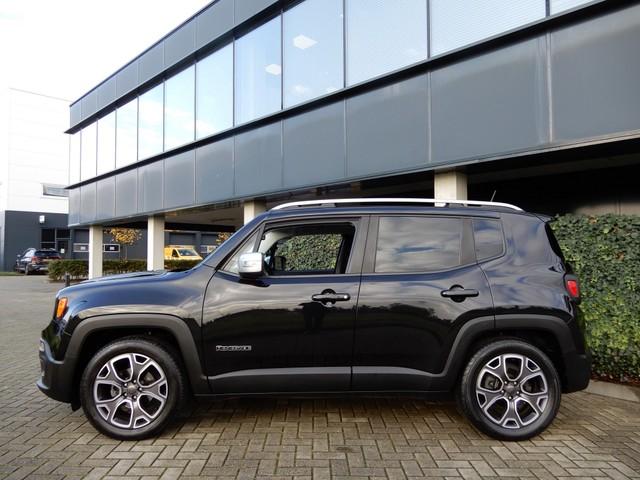 Jeep Renegade 1.4 M.Air Limited|Airco|Navi|LM Velgen|Parkeersensoren|