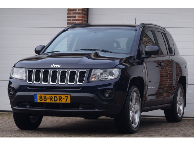 Jeep Compass 2.4 Aut. Limited 4WD Climate, Cruise, Trekhaak, Stoelverwarming