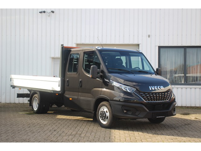Iveco Daily 35C18 180 pk Automaat Pick up Dubbel Cabine 7 Zits Navi, Full LED, Trekhaak 3.500 kg