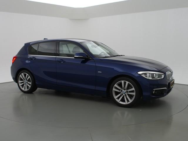 BMW 1 Serie 116d EDE URBAN H.E. + LEDER   LED   SPORTSTOELEN   NAVI PRO   KEYLESS