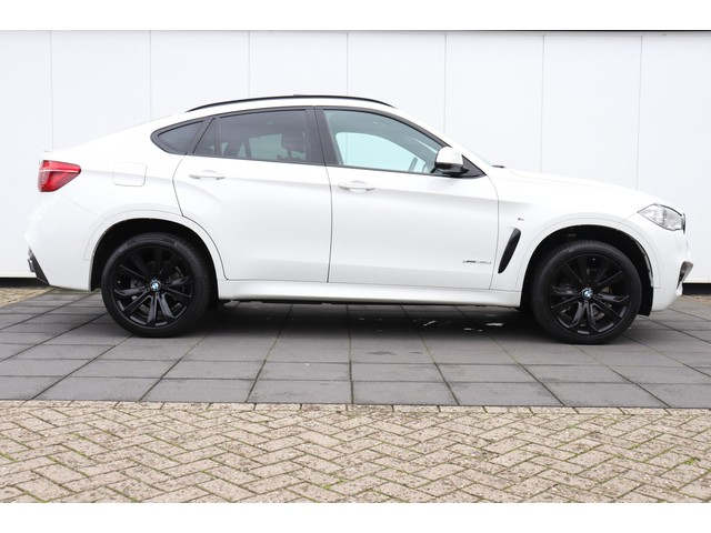 BMW X6 3.0d xDrive High Executive  M-PAKKET   259 PK   NAVI   360°CAMERA   HEAD-UP   SCHUIFDAK   HARMAN KARDON   LEDER   ADAPTIVE  