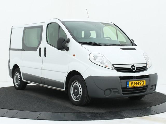Opel Vivaro 2.0CDTI Dubbele cabine Airco 62.000KM!