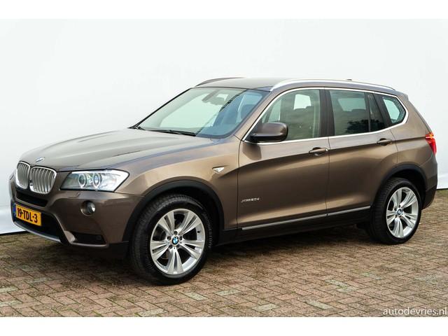 BMW X3 2.0D XDrive 184pk Automaat High Executive Sportstoelen Navigatie Xenon