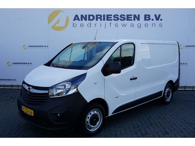 Opel Vivaro 1.6 CDTI 125PK L1H1 Navigatie, Airco, Cruise, Trekhaak