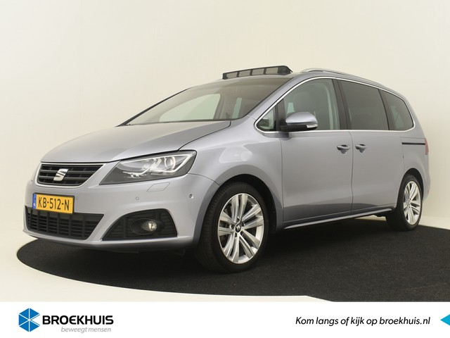 Seat Alhambra 2.0 TDI 150PK Style Connect ! Bomvol Opties | Camera | DAB Radio | Pano Dak | Xenon Koplampen