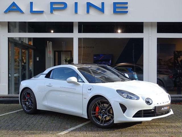 ALPINE A110 S 292pk Navig., Telemetrics, Actieve sportuitlaat, 18'' Fuchs, Carbon dak