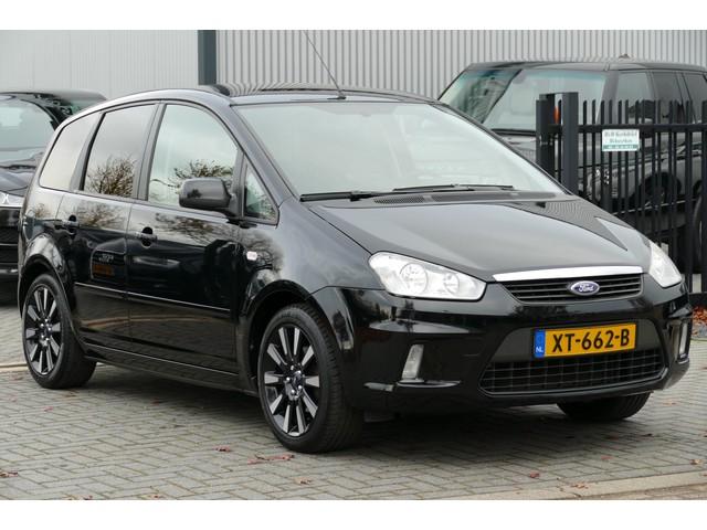Ford Focus C-MAX 1.8-16V Titanium Trekhaak, Clima, Half Leer, 17