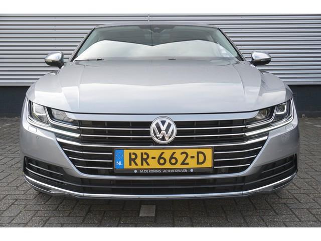 Volkswagen Arteon 2.0TDI 150PK Elegance Business DSG · Dig.dashboard · Leder alcantara · LED