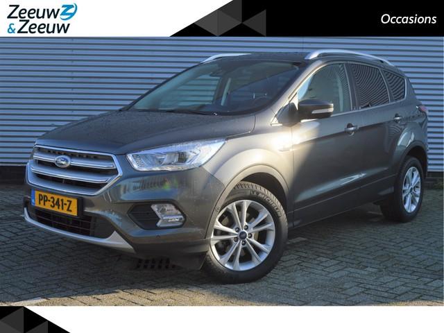 Ford Kuga 1.5 EcoBoost Titanium *Zeer compleet* Achteruitrijcam* Half leder* Nette auto* Dealer onderhouden* Zeeuw & Zeeuw Alphen a d Rijn