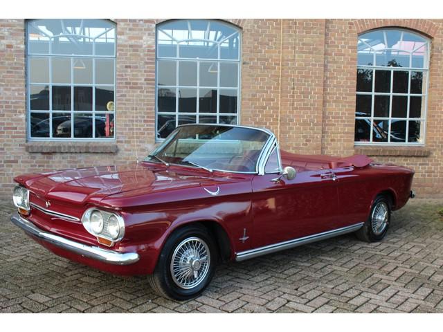 Chevrolet Corvair Cabriolet 1963, Monza uitvoering, Leder, Oldtimer, Heel Mooi!