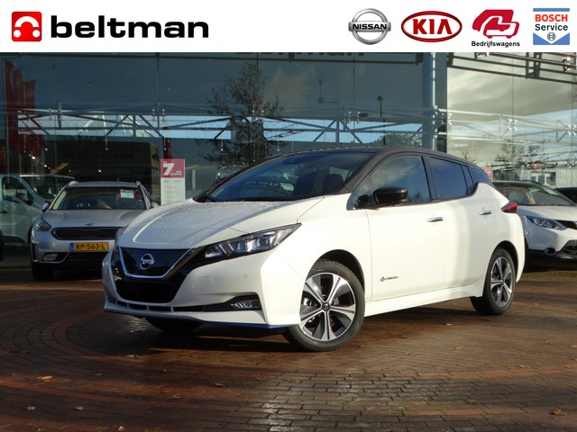 Nissan Leaf e+ Tekna 62 kWh   4% bijtelling 2019   Netto voorraad deal!!