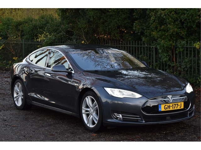 Tesla Model S 85D Base 368 PK, EX.BTW, NED.AUTO, LEDER, NAVIGATIE, CAMERA, FULL LED   XENON, NAP