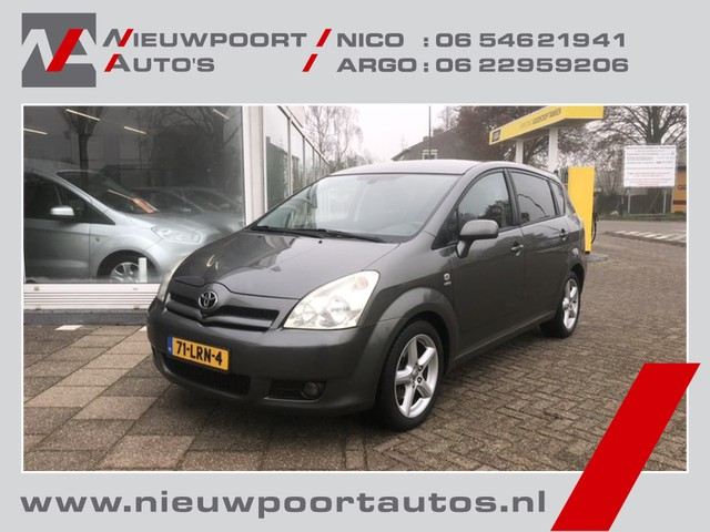 Toyota Corolla Verso 1.8 VVT-i Sol 7 Persoons Lmv 17 Inch, Privacy Glass