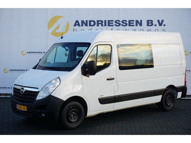 Opel Movano 2.3 CDTI L2H2, Dubbele Cabine, 7-Persoons, Airco, Navi, Cruise control