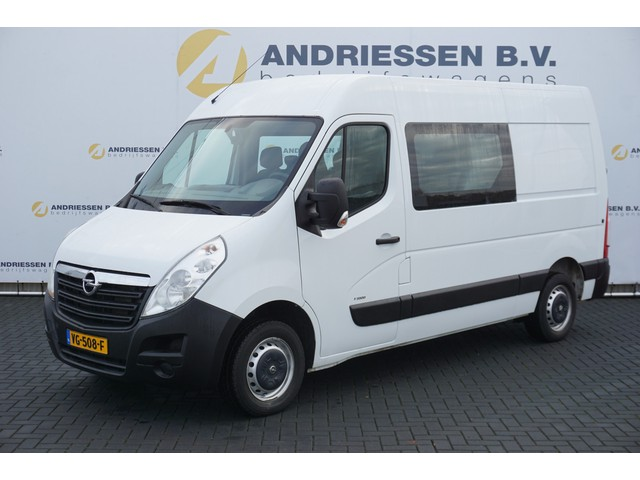 Opel Movano 2.3 CDTI L2H2 Dubbele Cabine, 7-Persoons **66.643KM**, Airco