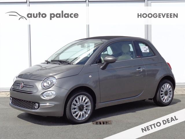 Fiat 500C CABRIO TURBO 85 PK LOUNGE | AIRCO | NAVIGATIE | NETTO DEAL ACTIE NU € 16.990 RIJKLAAR