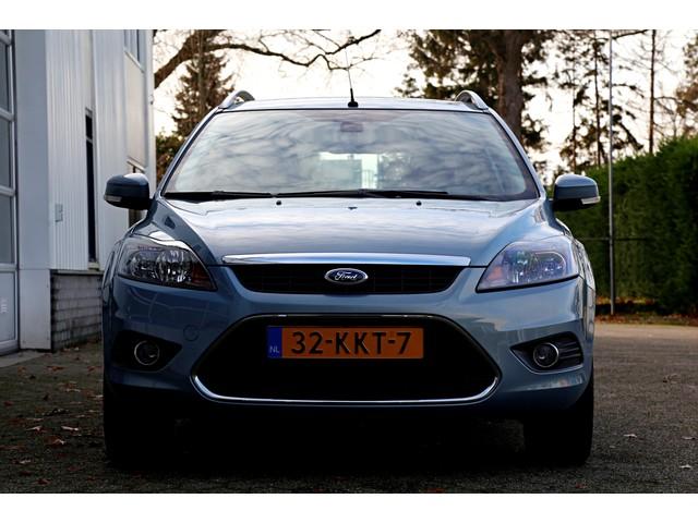 Ford Focus Wagon 1.8 125PK Limited*NL-Auto*Perfect Onderh.*Navi Leder Trekhaak Cruise-Control Lichtmetalen Wielen*