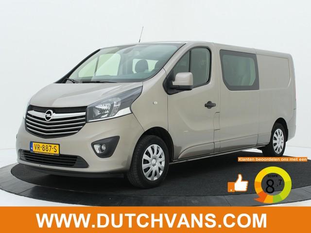 Opel Vivaro 1.6CDTI Lang Dubbel Cabine Sport Zeer Mooi !!! Airco   Cruisecontrole   Navigatie