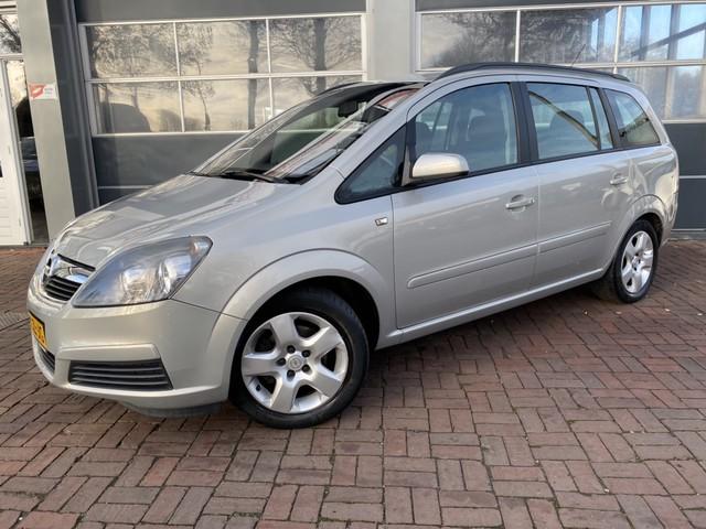 Opel Zafira 1.6 Enjoy Airco,Cruise,Trekhaak,Cv 7-persoons Dealer onderhouden