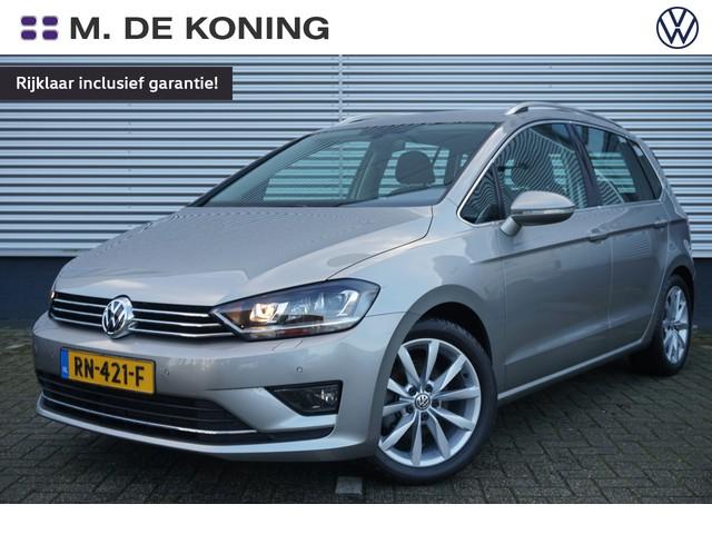 Volkswagen Golf Sportsvan 1.4TSI 126PK Highline DSG · Parkeersensoren + camera · Xenon · Massagefunctie