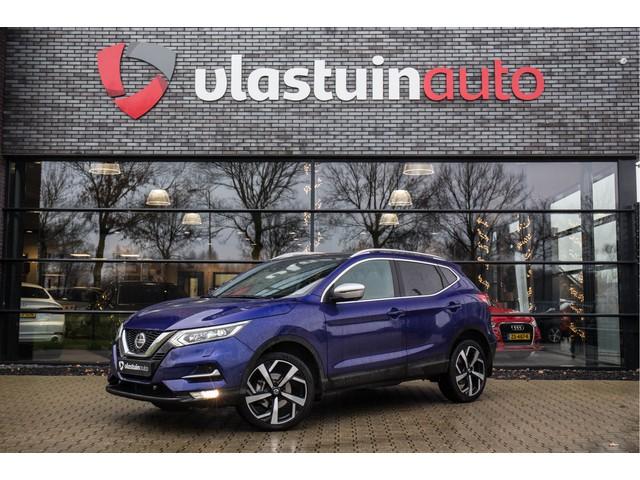 Nissan QASHQAI 1.3 DIG-T Tekna + , DECEMBERDEALS!, BOSE, 160PK, Panoramadak, Keyless entry, Leer,