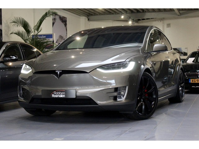 Tesla Model X P90D Ludicrous 6p Autopilot FREE SUPERCH. EX BTW