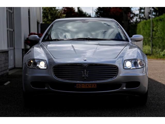 Maserati Quattroporte 4.2 V8 Automaat*NL auto*Perfect Onderhouden*Nieuwstaat*Navi Leder Bi-Xenon Bose Elek. Stoelen VOL*