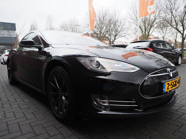Tesla Model S P85 Signature Performance 422PK MARGE Carbon Luchtvering Dolby Audio