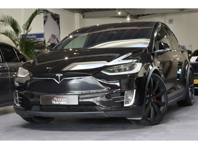 Tesla Model X P90D Ludicrous 7P AUTOPILOT FREE SUPERCH. EX BTW