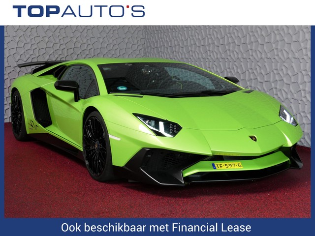 Lamborghini Aventador 6.5 V12 LP750-4 Superveloce SV Verde Ithaca