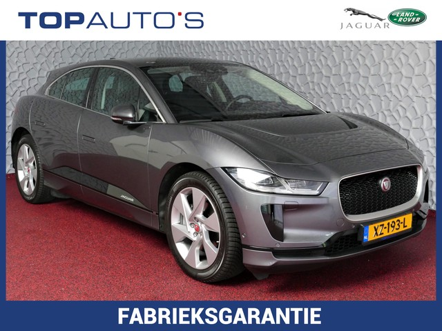 Jaguar I-PACE EV400 SE 4%! PRIJS EX BTW PANORAMA LED NAVI LEDER CAMERA STOEL STUUR VERW