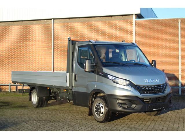 Iveco Daily 35C21 210 pk Automaat Pick Up   Open Laadbak LxBxH 480x207x40 Luchtvering, Navi, Trekhaak